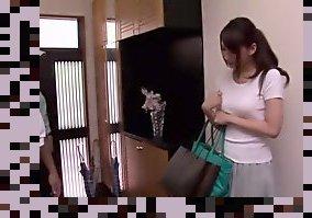 fingering japanese wife